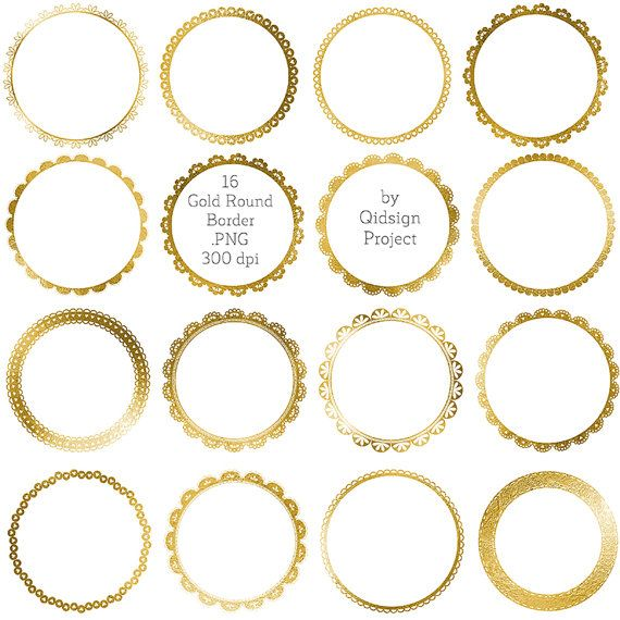 Hey, I found this really awesome Etsy listing at https://www.etsy.com/listing/241922550/16-gold-round-border-gold-lace-border