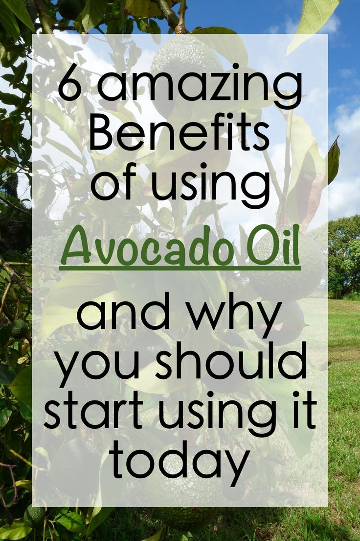 I never knew avocado oil has so many benefits. This one is a must read!