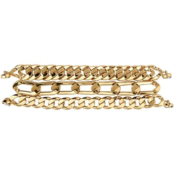Ca&lou Bracelet ($230) ❤ liked on Polyvore featuring jewelry, bracelets, accessories, gold and ca&lou