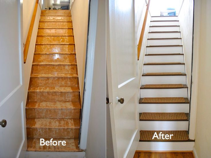 Best No Carpet On The Stairs New Treads Instead Hallway 640 x 480