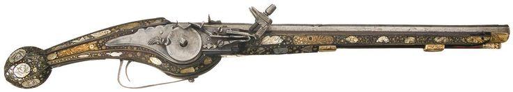 17th century wheellock pistol