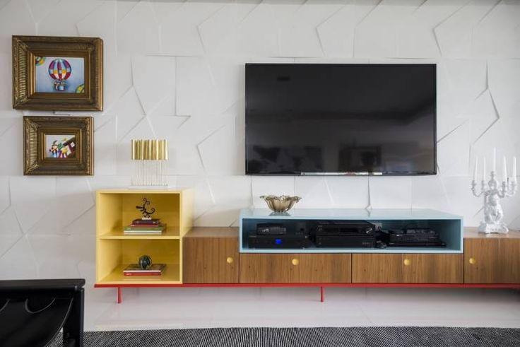 Ed. Único Condominium Classic: Salas de estar Moderno por Rodrigo Maia Arquitetura + Design