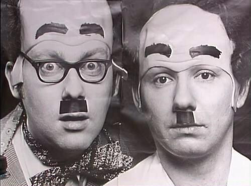 Donald and Davey Stott...Vic and I still don't know who or what they were meant to be
