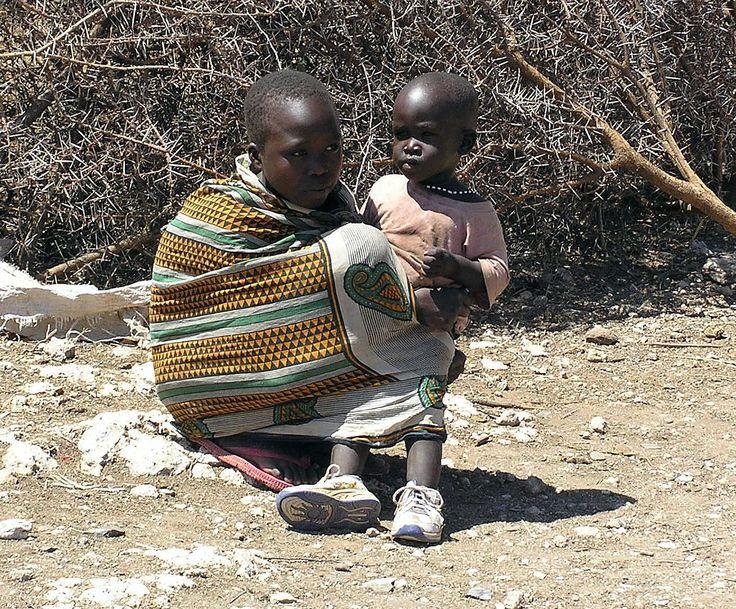 Masai-børn / Kenya.