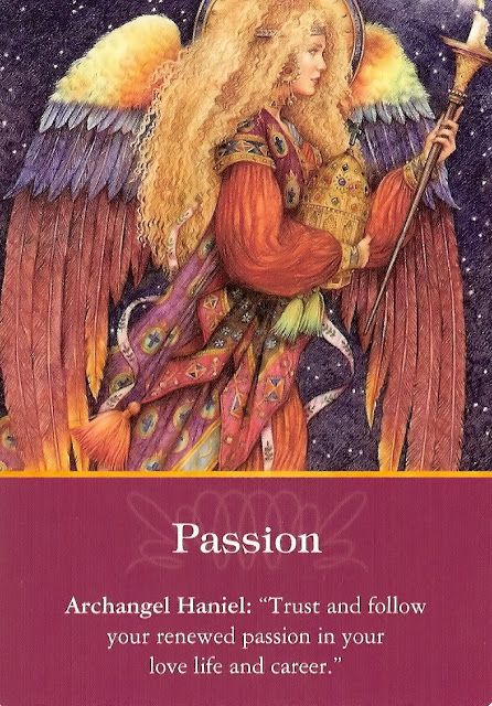 Got Angel?                                                       : Archangel Oracle Card for 1-29-16 Passion