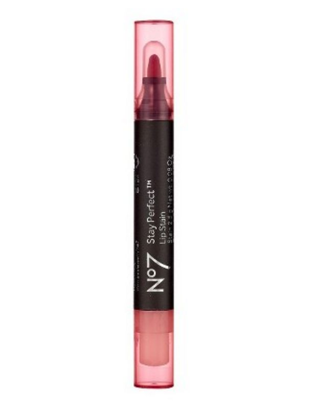 Stay Perfect Lip Stain, $9.99, target.com The skinny, felt-tip applicator makes it so easy to perfectly outline and stain your pout. Because set-it-and-forget-it types really are the best.10 Best Lip Stains For Summer That Won't Melt Off Your Face, No Matter How Hot It Gets