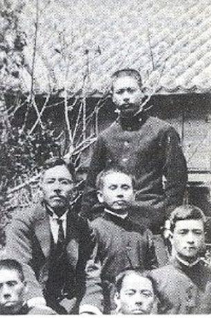 Sensei Anko Itosu with Kenwa Mabuni & Gichin Funakoshi