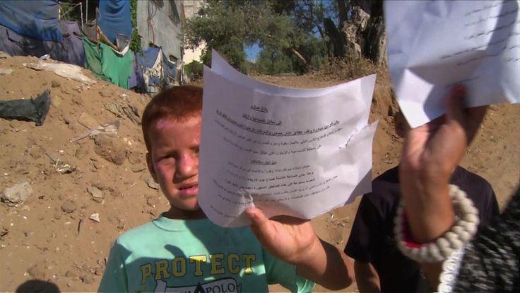 ◆YouTube|afpbbnews|イスラエル軍、ガザに退避勧告ビラを散布 http://youtu.be/WPd8U7-SDDo ▼16Jul2014AFP|【動画】イスラエルがガザに散布した退避勧告ビラ http://www.afpbb.com/articles/-/3020743