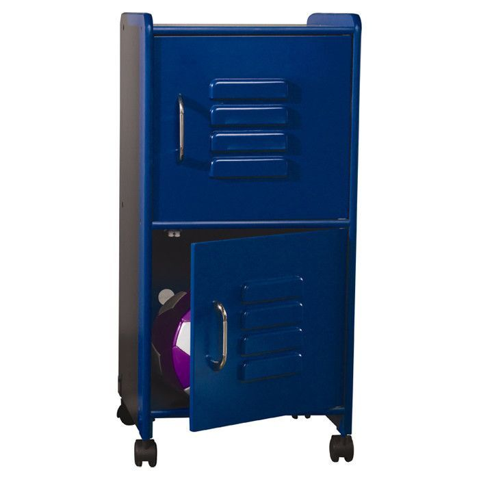 Cute Locker Room Type Storage Cabinet For Our Sports Theme