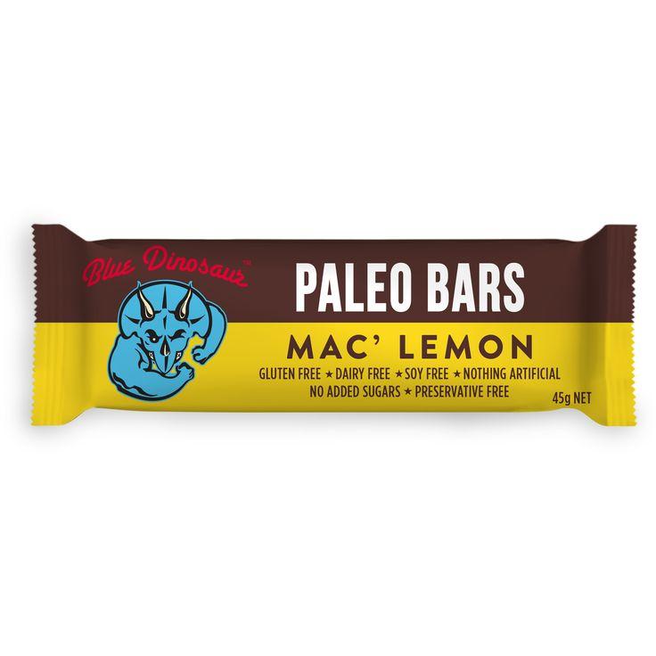 Mac Lemon #paleobars #glutenfree #soyfree #dairyfree #veganfood #superfood #nutbar #organicfood