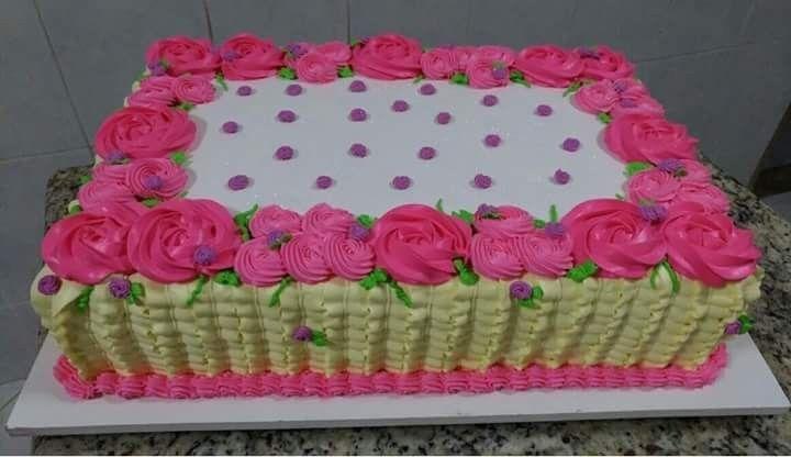 Pin De Lashae Rutz Em Cakes Bolo De Aniversario Quadrado Bolo