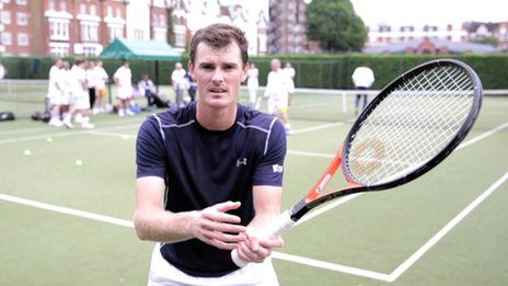 Jamie Murray's tips for the perfect volley