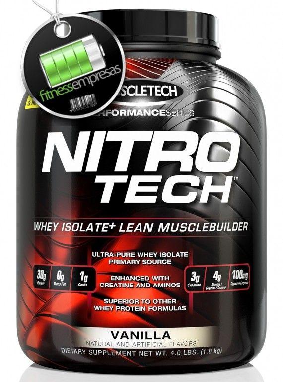 Nitro-Tech Performance Series es una fórmula científicamente desarrollada de aislado de suero y un constructor muscular diseñado para todos los atletas que están buscando conseguir más músculo, más fuerza y mejor rendimiento.