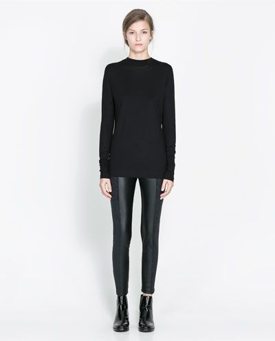 COMBINED LEGGINGS - Trousers - Woman - New collection | ZARA United States