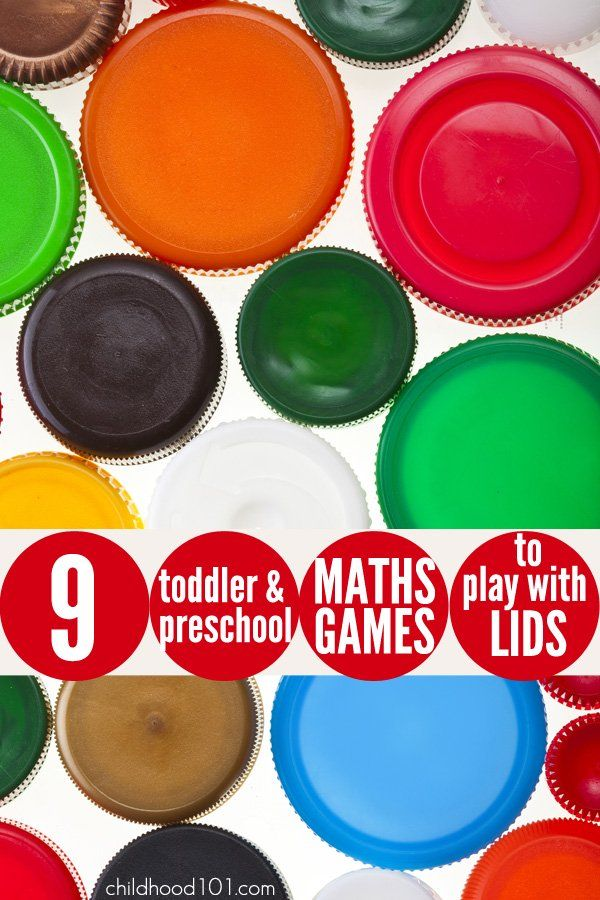 Plastic lids are a fabulous tool for playful learning and they're free! Here are 9 fun maths inspired games for toddlers and preschoolers to play with LIDS!  1. Count them: As I shared in this post - Beyond Number Names: Supporting Children As They Learn to Count, children who progress well in mathematics, at least in the early years of preschool and school, have a good understanding of the cardinal principle and its application. And them best way to develop this understanding is lots and…