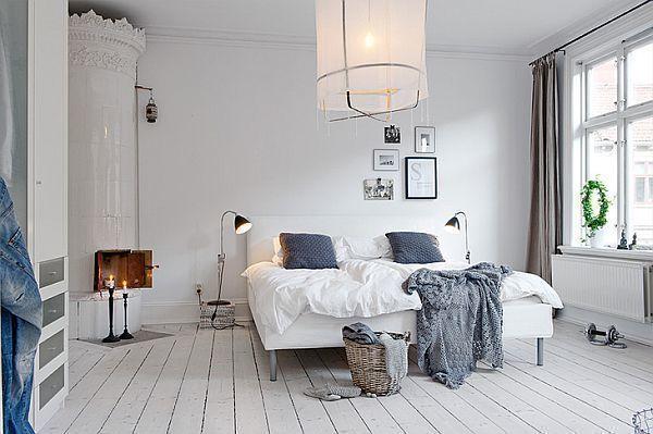 Scandinavian Interior Design   #Scandi   #Scandinavian   White Bedroom   #WhiteBedroom