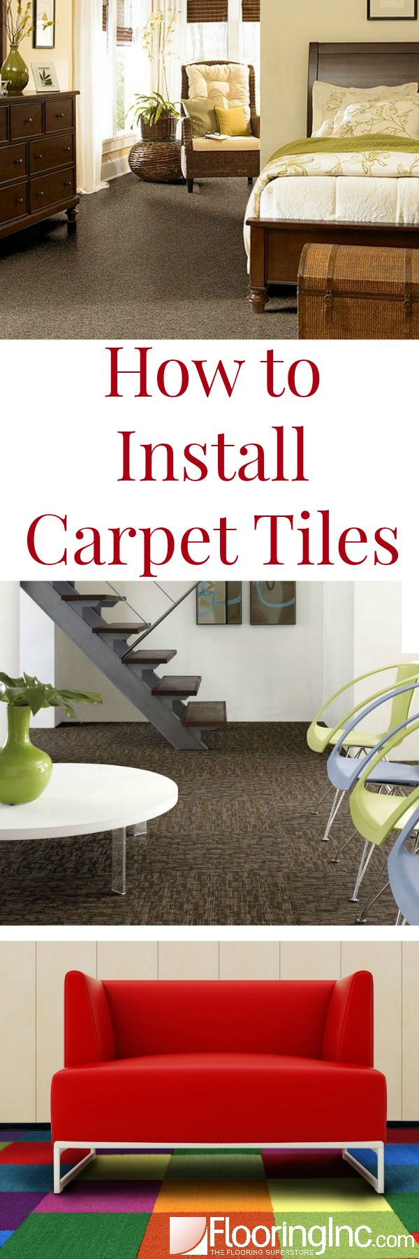 Harley color carpet tiles - How To Install Carpet Tiles In 4 Easy Steps