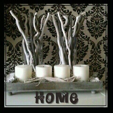 Kaarsen decoratie
