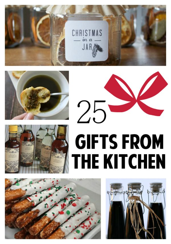 25 Gifts from the Kitchen