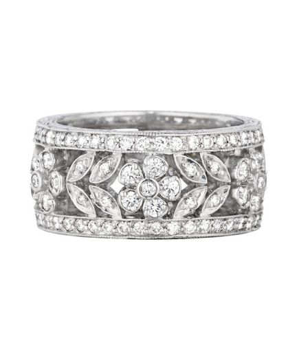 Some brides want a simple wedding band, while others dream of a sparkly ring embellished with gemstones. Whatever your style, one of these wedding rings will be perfect for you.