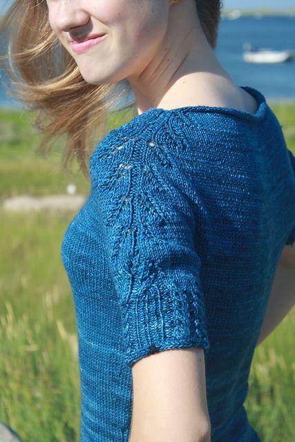CineCittà Top by La Maison Rililie: FO by MadMad on ravelry. #knitting #pattern #knitindie
