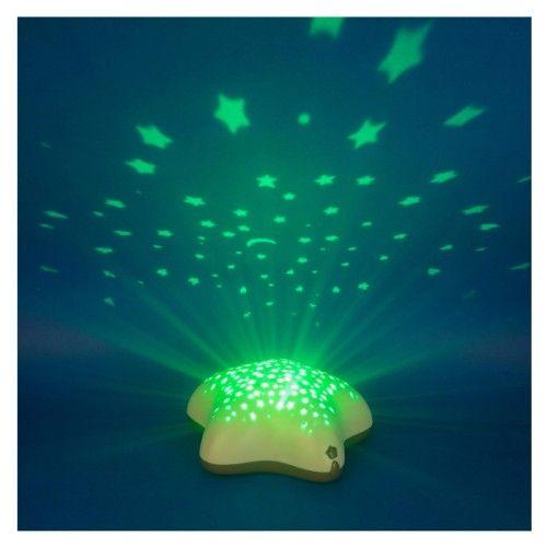 Veilleuse projecteur d'étoiles pour enfant