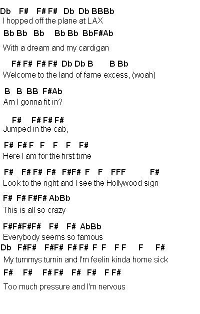 Flute Sheet Music: Miley Cyrus party in the USA