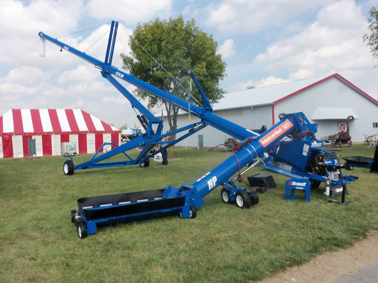 Brandt 1370 HD grain auger
