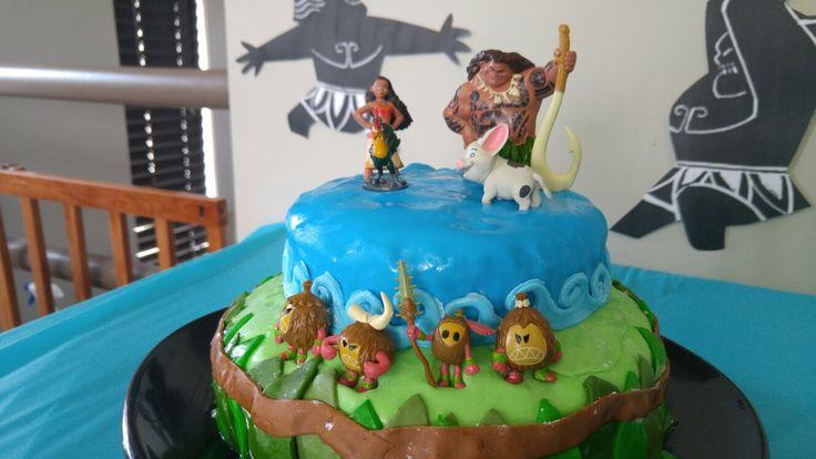 Disney Moana cake Maui boy 39 s