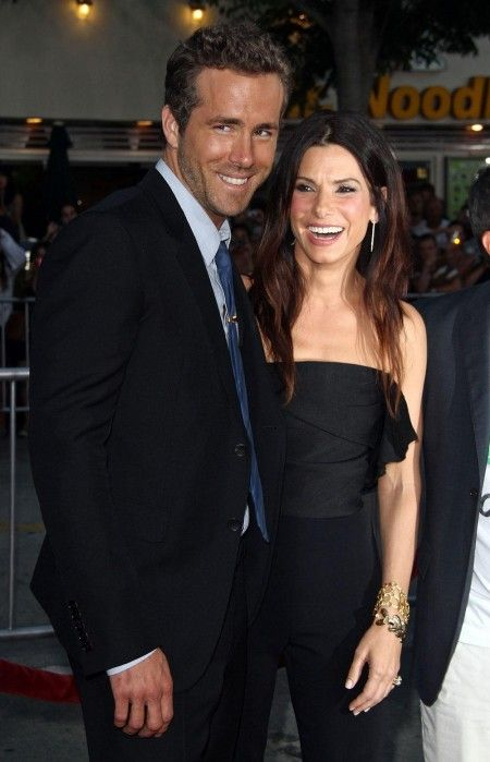Ryan Reynolds and Sandra Bullock: love both of them :-)