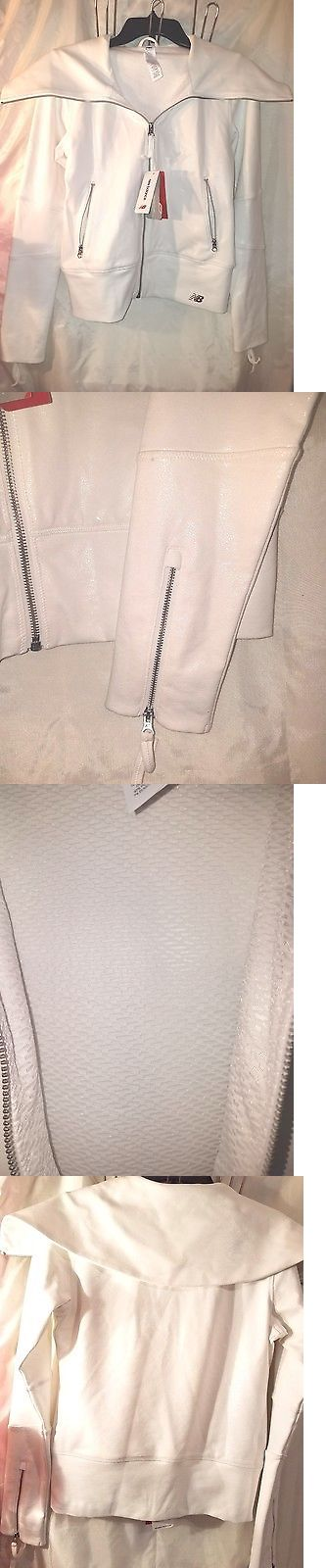 Jackets and Vests 59285: New Balance Womens Shadow Yoga Jacket White Small -> BUY IT NOW ONLY: $75 on eBay!
