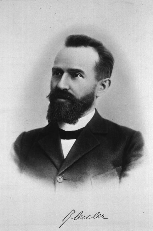 """Eugene Bleuler (1857 - 1939) was a Swiss pyschiatrist and contemporary who made notable contributions to understanding mental and coined terms like """"schizophrenia""""and """"autism"""". He was one of Sabina Spielrein's doctoral supervisors and had bigtime..."""