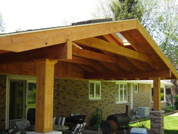 44 best patio roof designs images on pinterest | patio roof, patio ... - Patio Roof Design