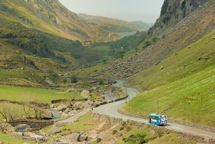 llanberis pass. Gwynedd, North Wales