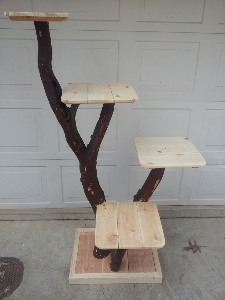 Cat tree or Cat Playground. $245.00, via Etsy....    Time to trim my tree....Does anyone want to help?