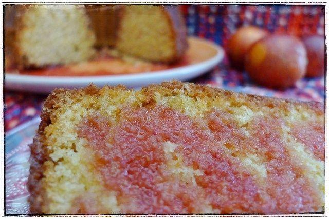 Blood orange & olive oil bundt cake - Bundt cake de naranja sanguina   Sweetmariquilla