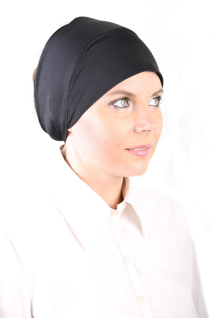 Polyblend Scarfpad in Black! 95% Lycra, 5% Spandex. #headscarves #cancerpatients #headcovers