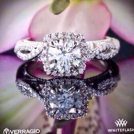 If I could pick my engagement ring, it would be this one! LOVE it!!!