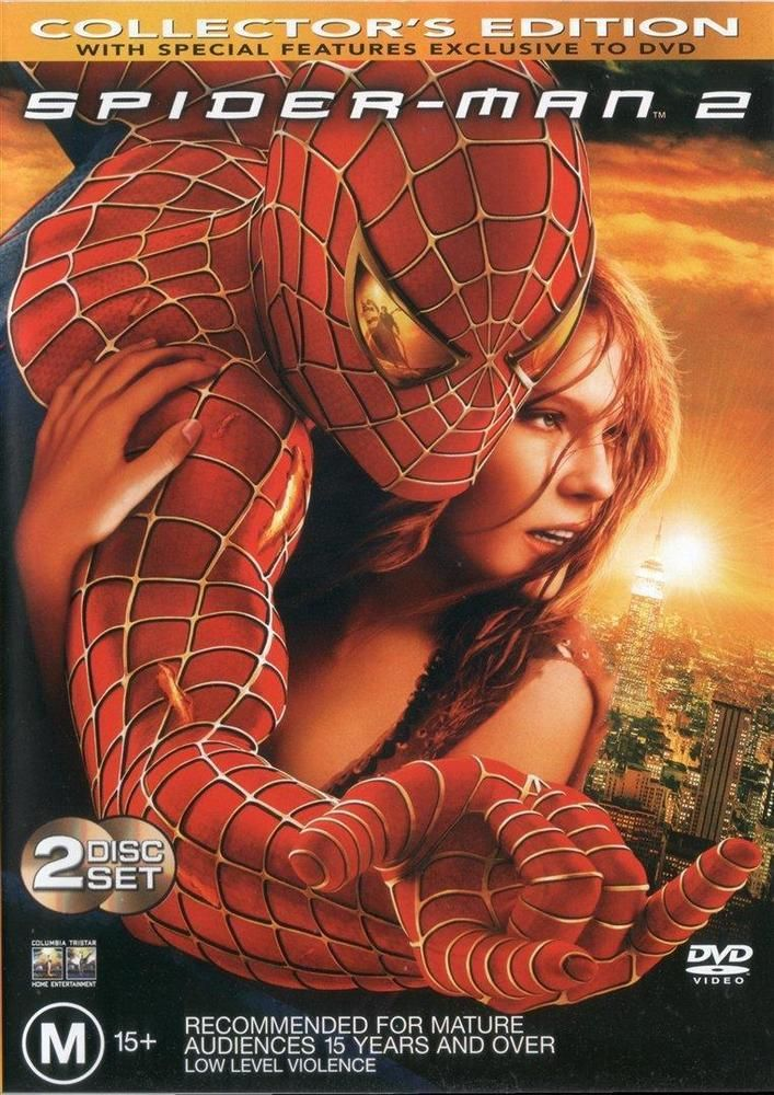 Discounted: Spider-Man 2 (DVD, 2004, 2-Disc Collector's Edition) AS NEW Spiderman Marvel #Spiderman #Spiderman2 #Marvel #Movies
