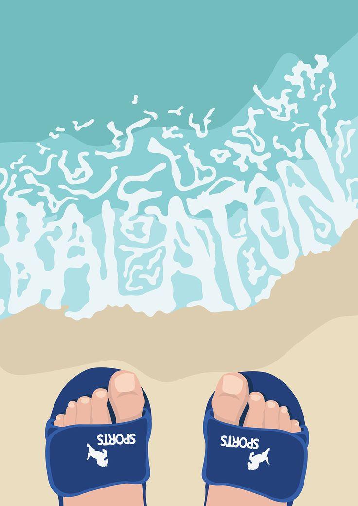 Balaton poster on Behance