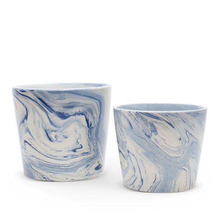 love the blue swirls...