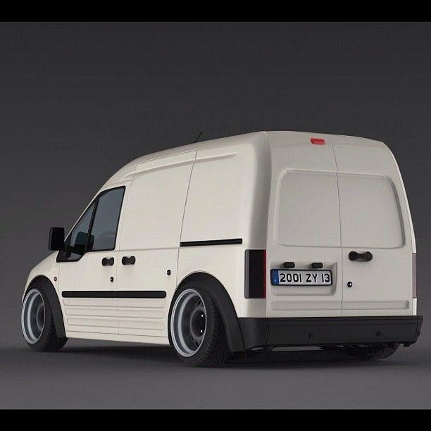 New Ford Transit Connect Vans For Sale: Company Van Yea Slammed Ford Transit Transitvan Van Stance