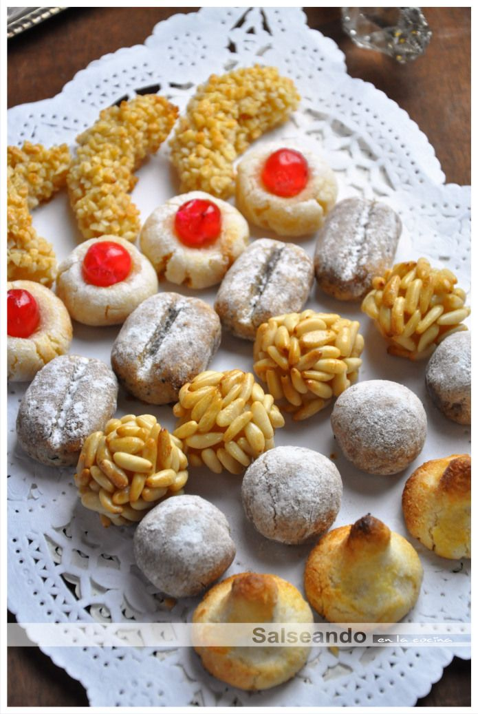 "Assorted Spanish Cookies--""panellets"""