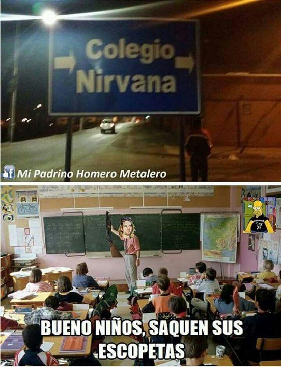 Esto si que es cruel, los que conocen a nirvana y a Kurt Cobain entenderán, jejeje