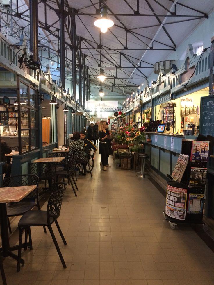 Old market in Tampere, Finland