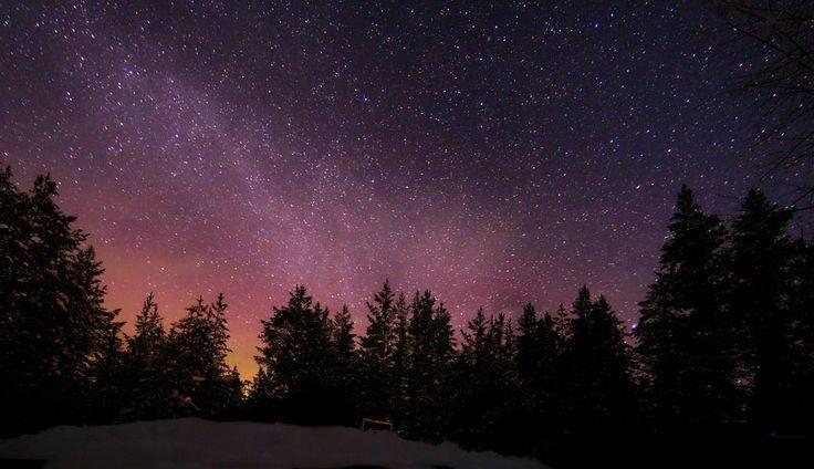 On instagram by arktikhippo #astrophotography #contratahotel (o) http://ift.tt/1YkTgK4 Milky Way  -Hoze back in da house #exclusive_shots #perfect_shot #sky_brilliance #exclusive_world #visitoulu #visitfinland #thisisfinland #ourfinland #star #longexposure #night #astrology #milkyway #sky #winter #skyline #dark #space  #f4f #follow4follow #l4l #like4like #followme #instalike #likeforlikes #instashot #photooftheday #rokua #nationalpark