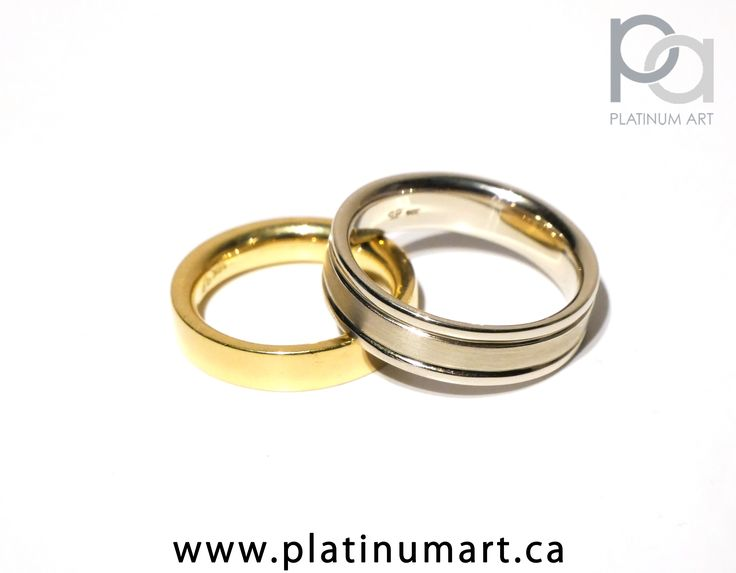 Tis the season to think of your loved ones, no better way to show it then a beautiful ring. Featured today is a beautiful pair of wedding bands, one for the lady and one for the lord. The First is 18k Yellow Gold solid band, and the other is 14k White Gold. Which do you like better? Let us know. Call for Prices 1-844-787-7348 By appointment only  #jewellery #ring #18k #platinum #weddingrings #highendjewellery #engaged #416 #fashion #GQ #sparkle #vintage   #weddingband #weddingbands…