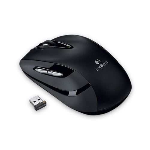 Logitech Wireless Mouse M545 Optical Black 6 Unifying For Laptop Macbook PC #Logitech