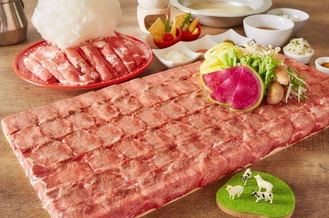 フォトジェ肉♪わたあめを溶かして食べるラム肉しゃぶしゃぶが横浜にOPEN