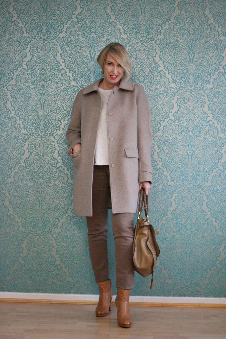 A fashion Blog for women over 40 and mature women  Sweater: Zara Coat: Strenesse Pants: NYDJ Booties: Alberto Fermani Bag: Chloé  http://www.glamupyourlifestyle.com/